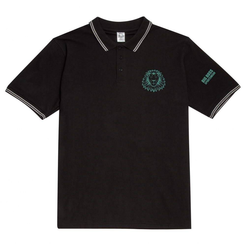 Plain polo shirt Lion