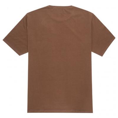 Brown elastane t-shirt