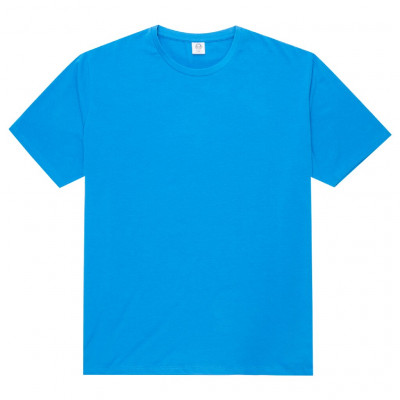 Blue elastane t-shirt