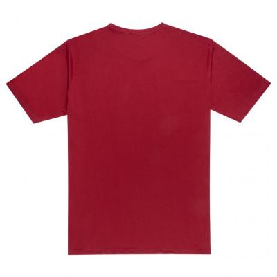 Burgundy t-shirt