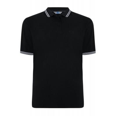 4XL BadRhino Black Polo Shirt XXXXL